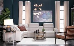 Kristen Silver Grey 6 Piece Power Reclining Sectionals