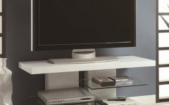 White Glass Tv Stands