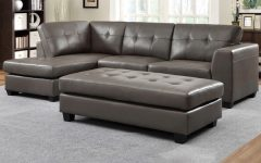 Leather Sectionals With Chaise And Ottoman