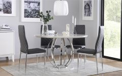 Chrome Dining Room Sets