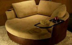Round Swivel Sofa Chairs