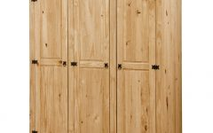 Natural Pine Wardrobes