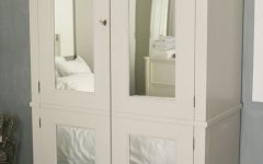 White Wardrobes Armoire