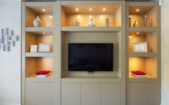 Living Room Fitted Cabinets