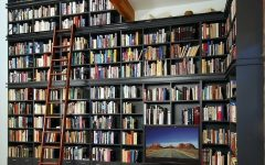 Full Wall Bookshelves