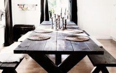 Indoor Picnic Style Dining Tables