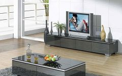 Matching Tv Unit and Coffee Tables