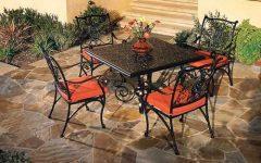 Dellaney 35'' Iron Dining Tables