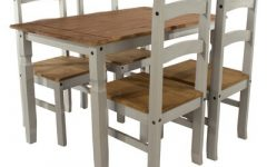 Nolea 29.53'' Pine Solid Wood Dining Tables
