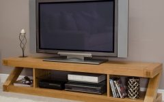Oak Tv Stands for Flat Screens