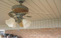 Outdoor Ceiling Fans with Removable Blades