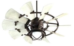Outdoor Windmill Ceiling Fans with Light