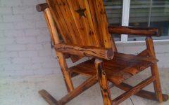 Rocking Chair Outdoor Wooden