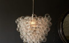 Glass Droplet Chandelier