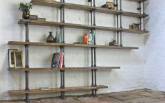 Pipe Bookcases