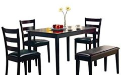 Helms 5 Piece Round Dining Sets With Side Chairs