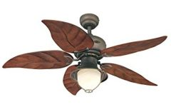 Leaf Blades Outdoor Ceiling Fans