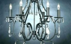 Metal Ball Candle Chandeliers
