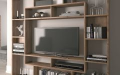 Tv Unit With Bookcases