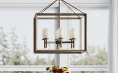 Thorne 6-light Lantern Square / Rectangle Pendants