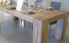 Solid Oak Dining Tables