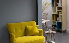 Yellow Sofa Chairs