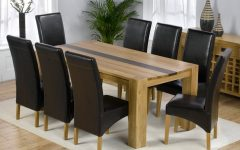 8 Seater Oak Dining Tables