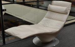 Natuzzi Zeta Chaise Lounge Chairs