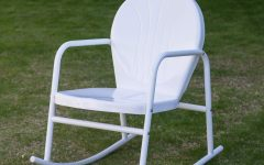 Retro Outdoor Rocking Chairs