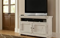 Rustic White Tv Stands