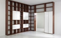 Full Wall Shelving Units