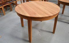Circular Oak Dining Tables