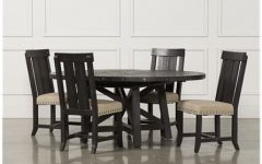 Jaxon 6 Piece Rectangle Dining Sets with Bench & Uph Chairs