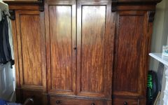 Antique Breakfront Wardrobes