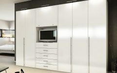 Tall White Gloss Wardrobes