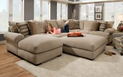 Wide Sectional Sofas