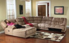Sectional Sofas with Recliners and Chaise
