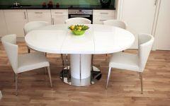 Extendable Round Dining Tables Sets