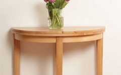 Round Half Moon Dining Tables