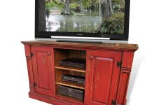Rustic Red Tv Stands