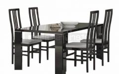 Black High Gloss Dining Tables