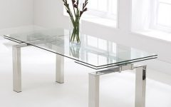 Glass Folding Dining Tables