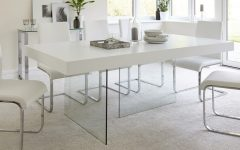 Glasses Dining Tables