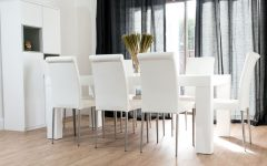 White Dining Tables 8 Seater