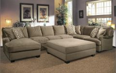 Sectional Couches With Large Ottoman