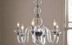 Simple Glass Chandelier