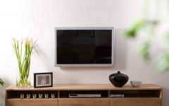 Wide Oak Tv Units