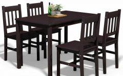 Sundberg 5 Piece Solid Wood Dining Sets