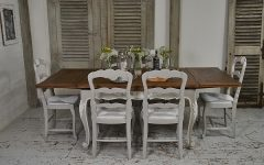 Shabby Chic Extendable Dining Tables