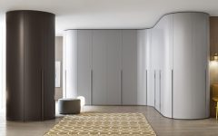 Curved Corner Wardrobes Doors